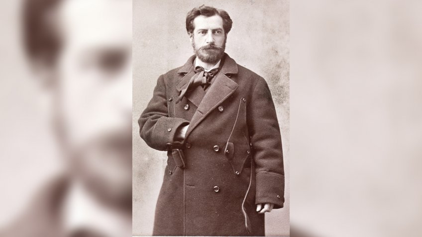 Frederic Auguste Bartholdi sculptor of the Statue of Liberty