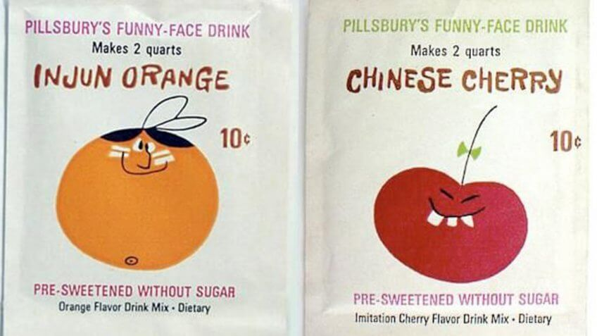 Funny Face drink mix old brand