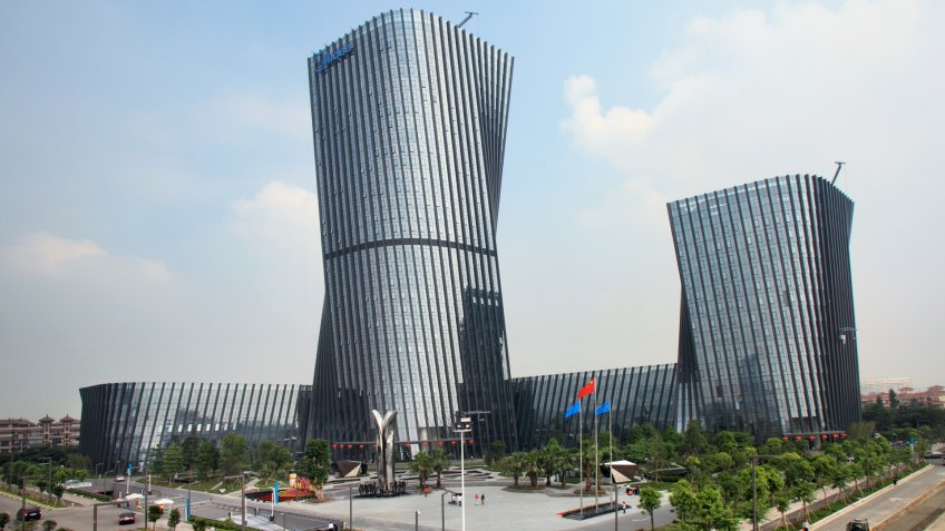 Midea Group headquarters.