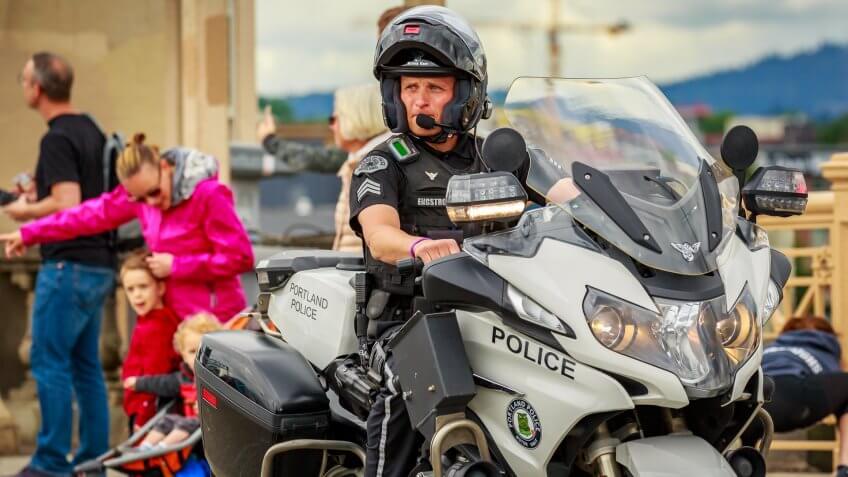 Portland Oregon police deparment
