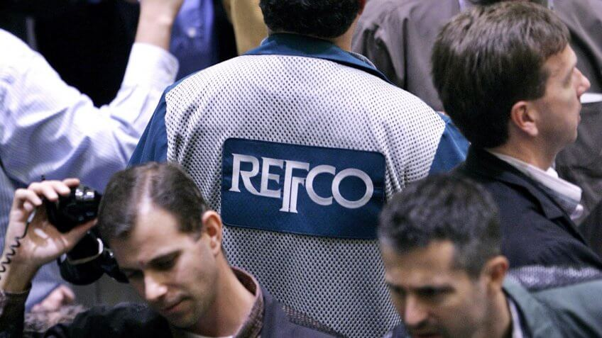 Mandatory Credit: Photo by Peter Foley/EPA/Shutterstock (7864133b)Refco Commodity Traders Buy and Sell November Oil Futures On the Floor of the New York Mercantile Exchange New York City Monday 17 October 2005 After Refco's Former Ceo Phillip Bennett Was Arrested Last Week On Securities Fraud and the Company's Stock Price Fell Sharply Refco is Trying to Sell-off It's Futures Business and Salvage Parts of the CompanyUsa New York Mercantile Exchange Refco - Oct 2005.
