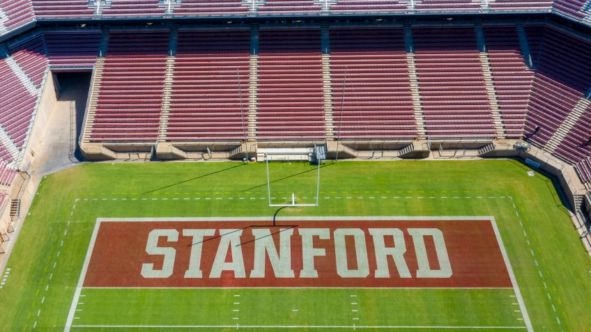 September 24, 2019 - Stanford, California, USA: Stanford Stadium is an outdoor athletic stadium in Stanford, California, on the campus of Stanford University.