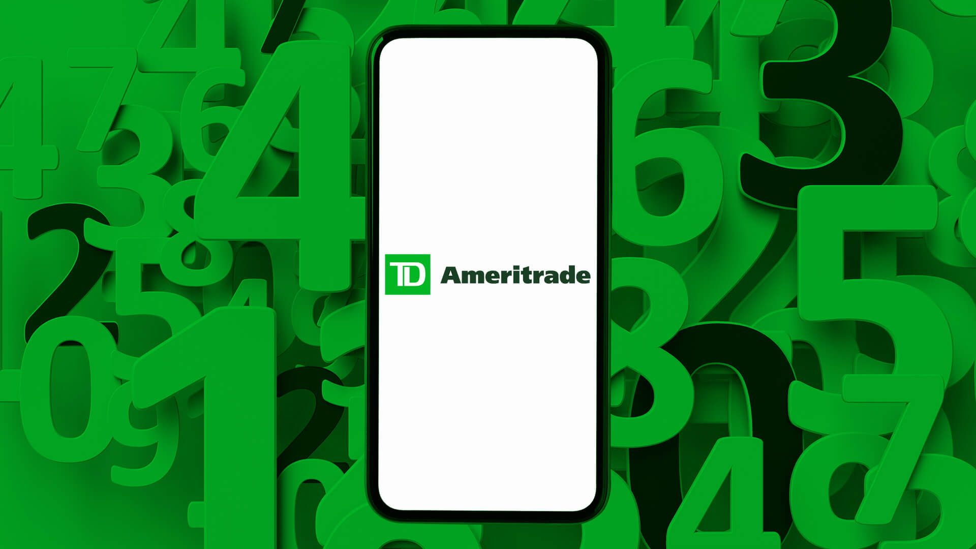 TD Ameritrade routing number