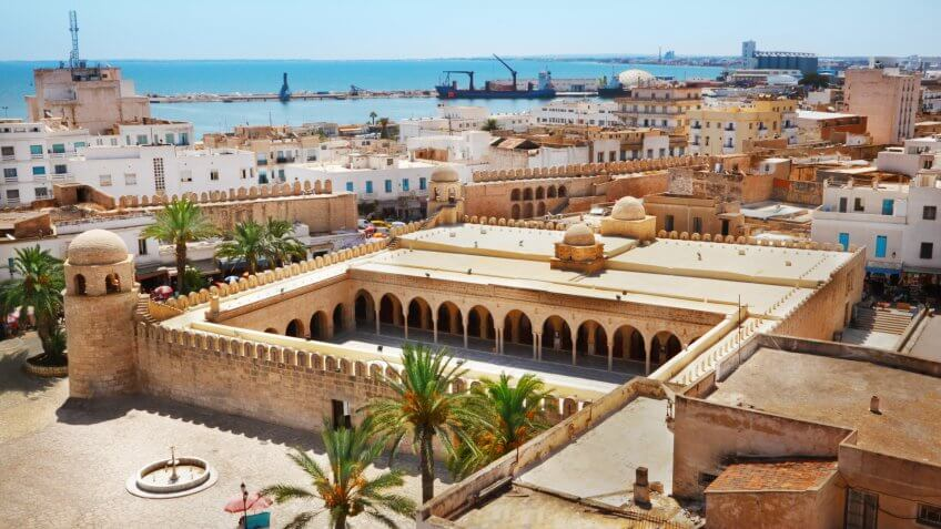 Great Mosque in Sousse, Tunisia.