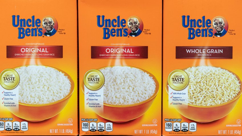 New York, NY - June 17, 2020: Uncle Ben's owner Mars is planning to change brand identity in response to #BLM movement.