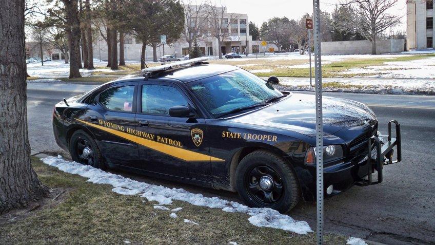 Wyoming State patrol