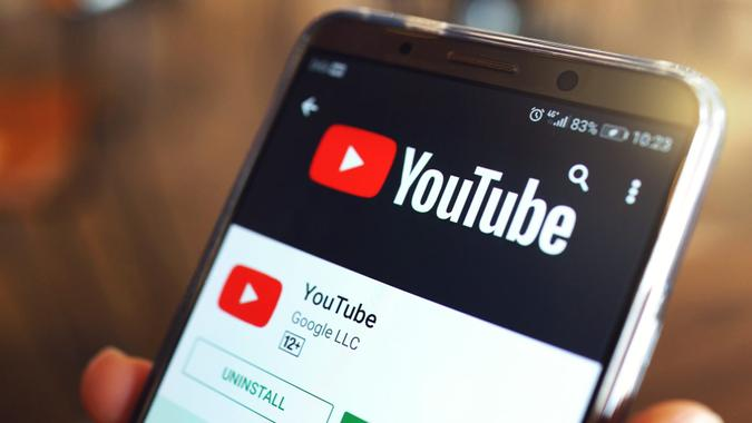 YouTube video streaming service