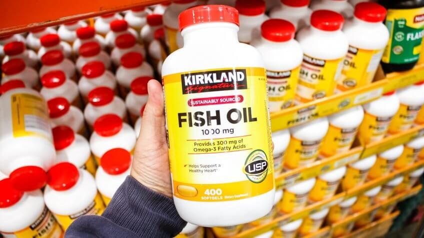 kirland fish oil single purchase