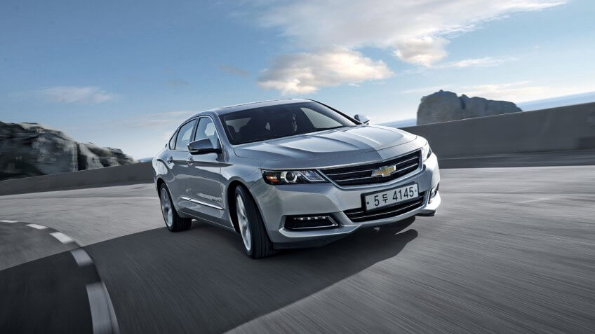 Chevrolet's flagship sedan - manufactured in Detroit - is now available to customers in Korea.