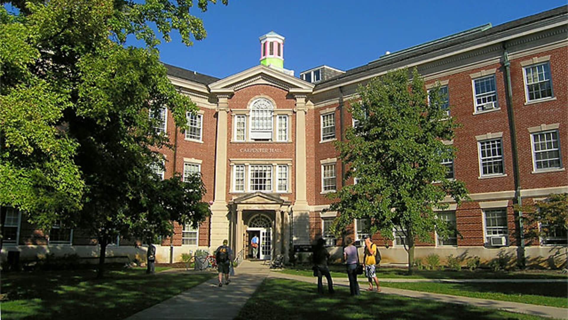 Carpenter Hall, on the Earlam College Campus, September 2005.