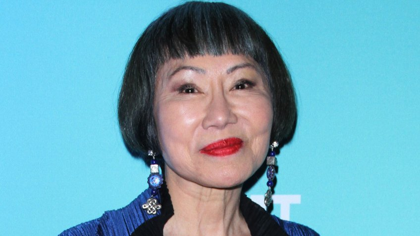 Mandatory Credit: Photo by MediaPunch/Shutterstock (9939872b)Amy Tan'The Great American Read' TV show premiere, New York, USA - 21 Oct 2018.