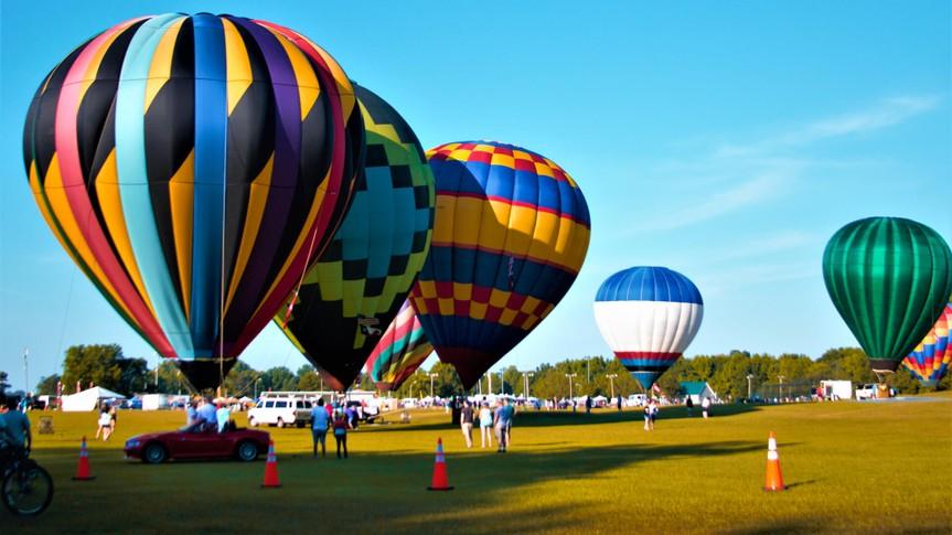 Decatur, AL/USA, 6/9/2019, Alabama Jubilee Hot Air Balloon Classic.