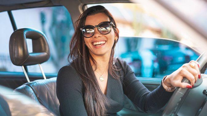 Vehicle Seat, Parking Lot, Confidence, Driving, Car Door.