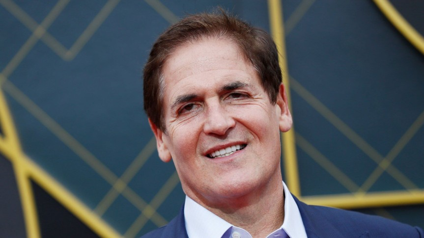 Mandatory Credit: Photo by ETIENNE LAURENT/EPA-EFE/Shutterstock (10320795dj)US businessman Mark Cuban poses for the photographers upon his arrival for the 2019 NBA Awards at Barker Hangar in Santa Monica, California, USA, 24 June 2019 (issued 25 June 2019).