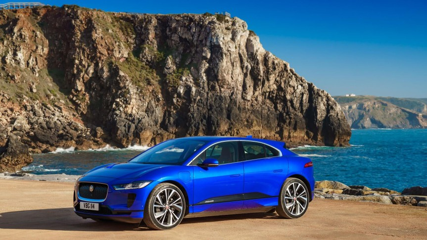 Jaguar I-PACE Global Drive, Portugal, 2018.