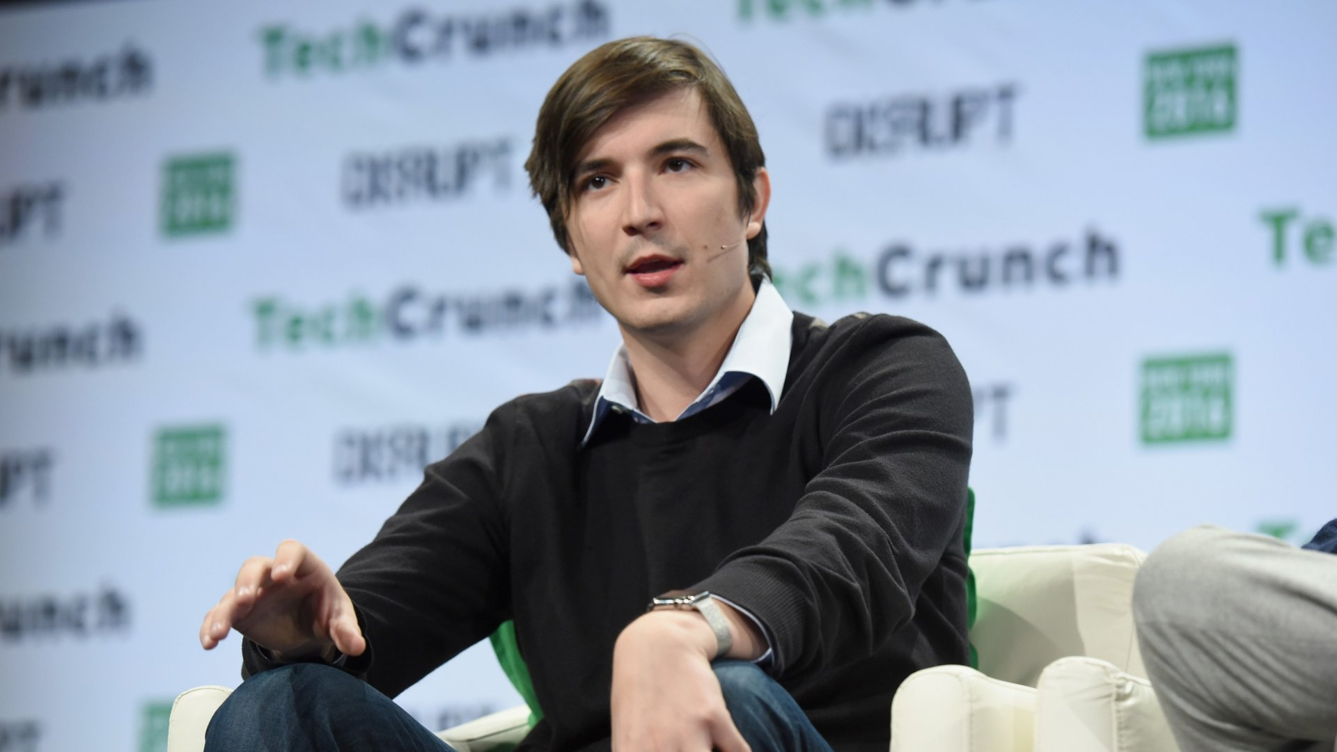 NEW YORK, NY - MAY 10:  Co-founder and co-CEO of Robinhood Vladimir Tenev speaks onstage during TechCrunch Disrupt NY 2016 at Brooklyn Cruise Terminal on May 10, 2016 in New York City.