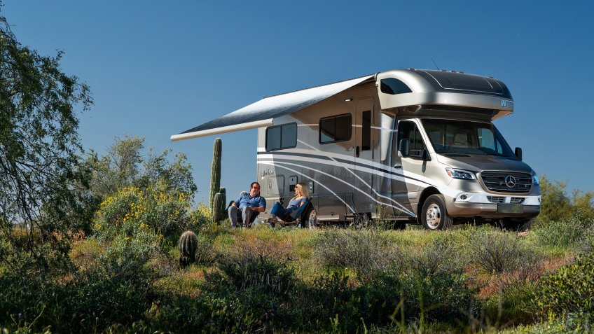 Winnebago View exterior - Winnebago