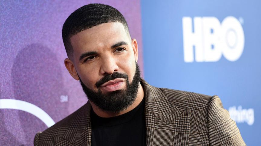 """Mandatory Credit: Photo by Chris Pizzello/Invision/AP/Shutterstock (10268557v)Drake, an executive producer of the HBO drama series """"Euphoria,"""" poses at the premiere of the series at the ArcLight Hollywood, in Los AngelesLA Premiere of """"Euphoria"""", Los Angeles, USA - 04 Jun 2019."""