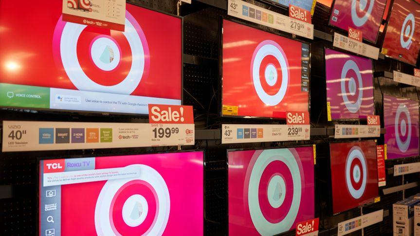 Target TVs for sale