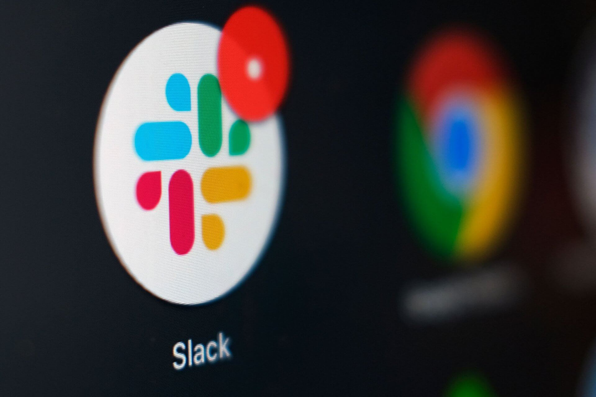 Mandatory Credit: Photo by Kiichiro Sato/AP/Shutterstock (11088938d)The Slack app icon is displayed on a computer screen, in Tokyo.