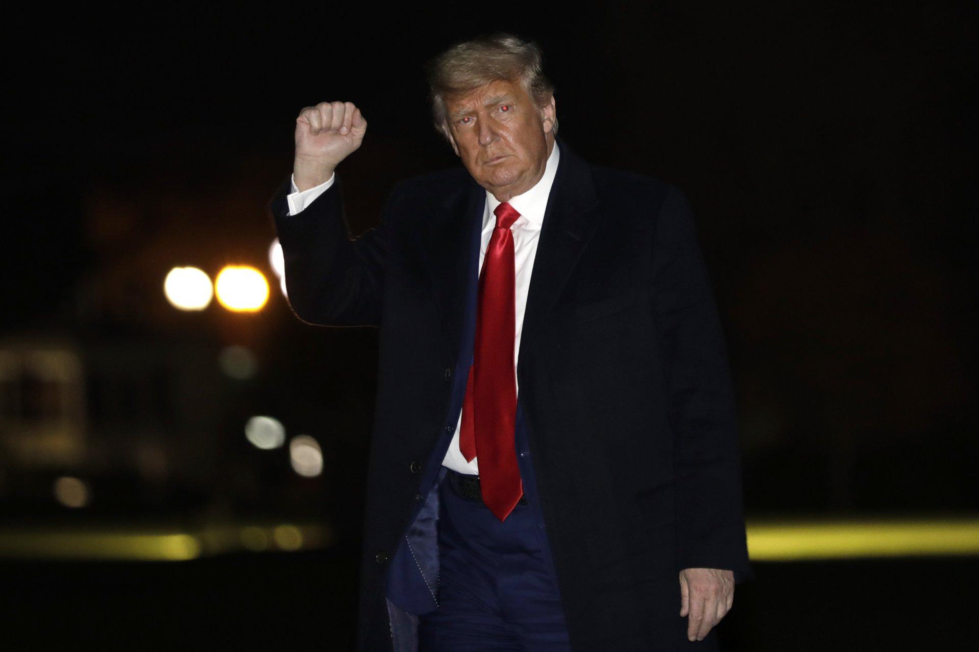 Mandatory Credit: Photo by Shutterstock (11540065c)United States President Donald J.