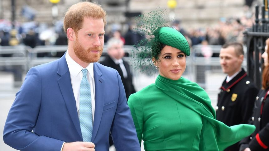 Mandatory Credit: Photo by Tim Rooke/Shutterstock (10577879bt)Prince Harry and Meghan Duchess of Sussex.