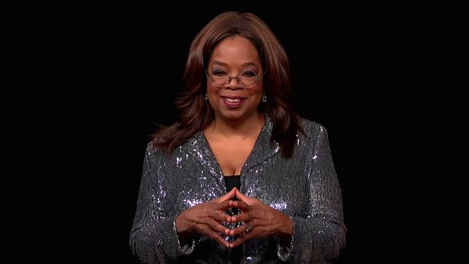 Mandatory Credit: Photo by Uncredited/Invision/AP/Shutterstock (10783650fr)Oprah Winfrey presents the Governors Award during the 72nd Emmy Awards telecast on at 8:00 PM EDT/5:00 PM PDT on ABC72nd Emmy Awards - Show, Los Angeles, United States - 20 Sep 2020.
