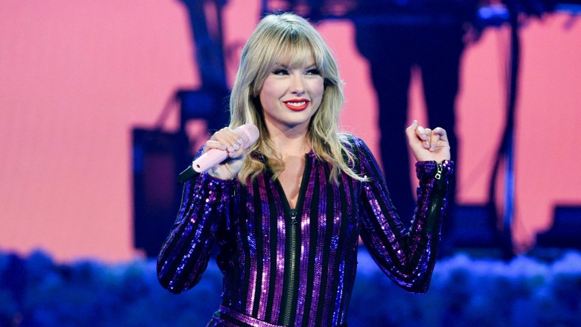 Mandatory Credit: Photo by Evan Agostini/Invision/AP/Shutterstock (10481467a)Taylor Swift performs at Amazon Music's Prime Day concert in New York.