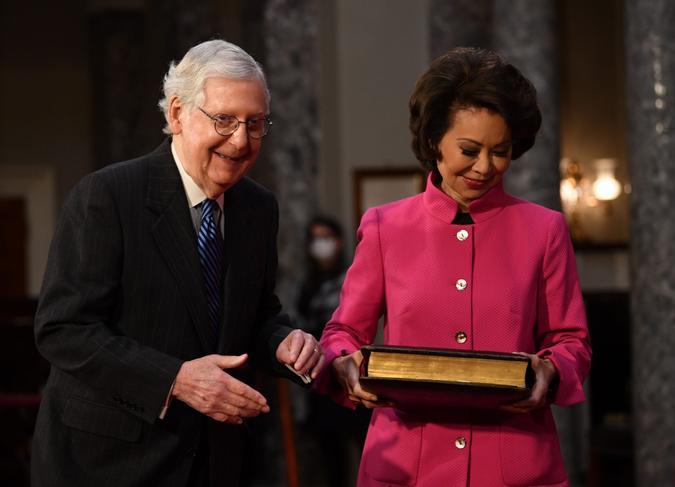 Mandatory Credit: Photo by KEVIN DIETSCH/UPI/Shutterstock (11677909ak)Senate Majority Leader Mitch McConnell, R-Ky.