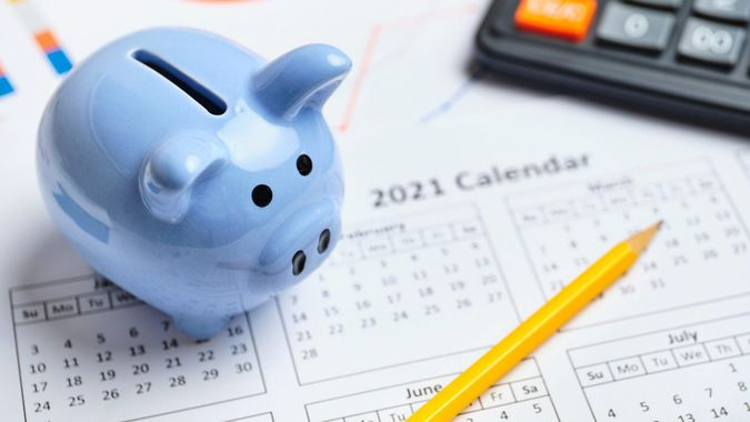 Plan to keep savings in the piggy bank in 2021 year.