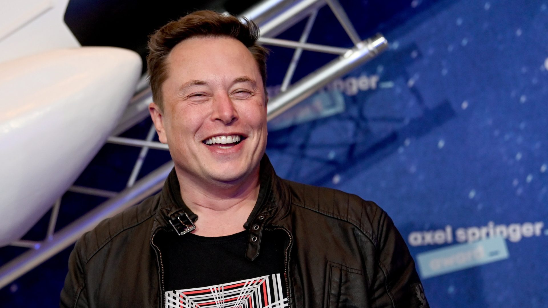 Mandatory Credit: Photo by BRITTA PEDERSEN/POOL/EPA-EFE/Shutterstock (11088639m)SpaceX owner and Tesla CEO Elon Musk arrives on the red carpet for the Axel Springer award, in Berlin, Germany, 01 December 2020.