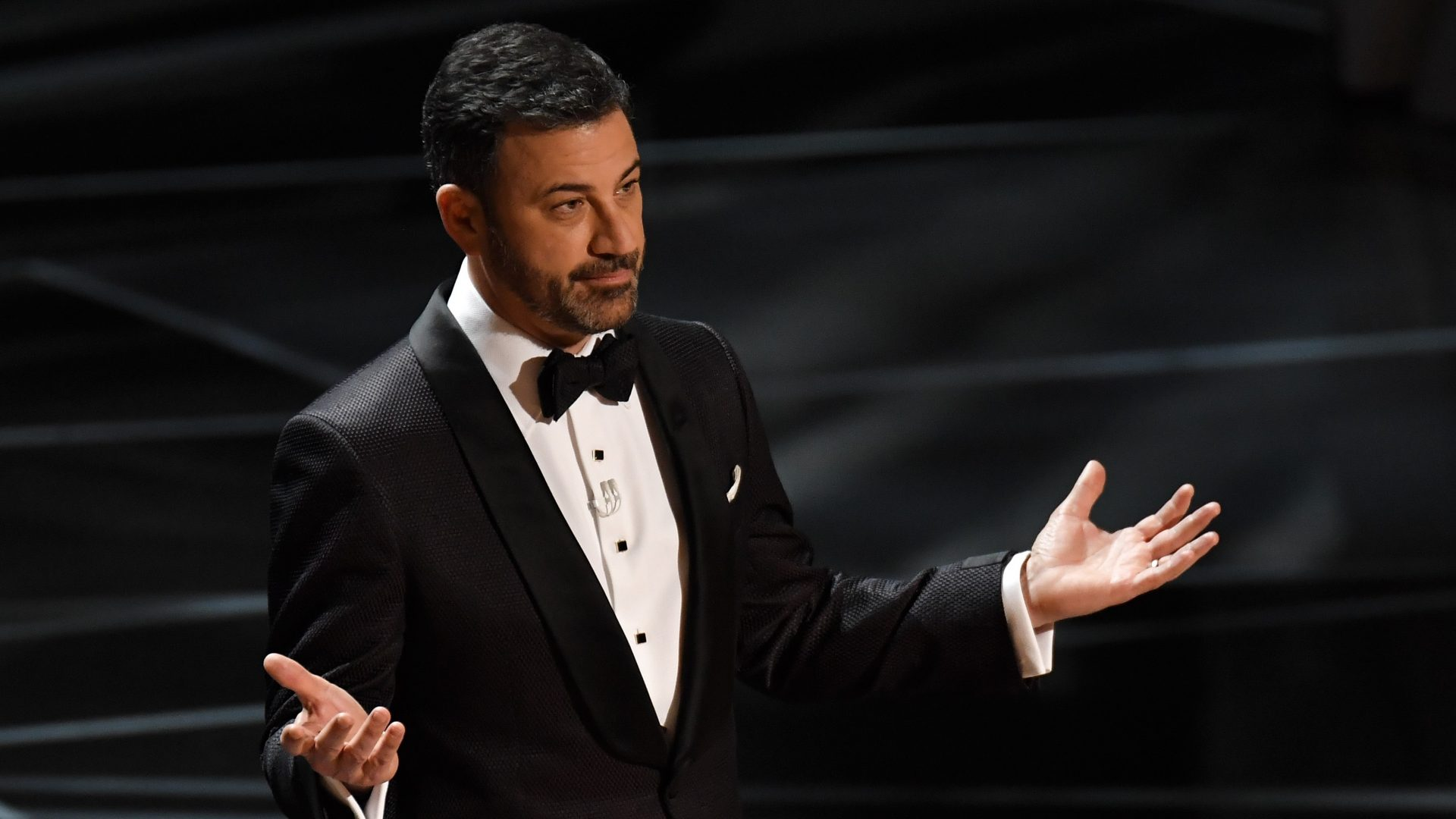 Mandatory Credit: Photo by Rob Latour/Shutterstock (9446184pj)Jimmy Kimmel90th Annual Academy Awards, Show, Los Angeles, USA - 04 Mar 2018.