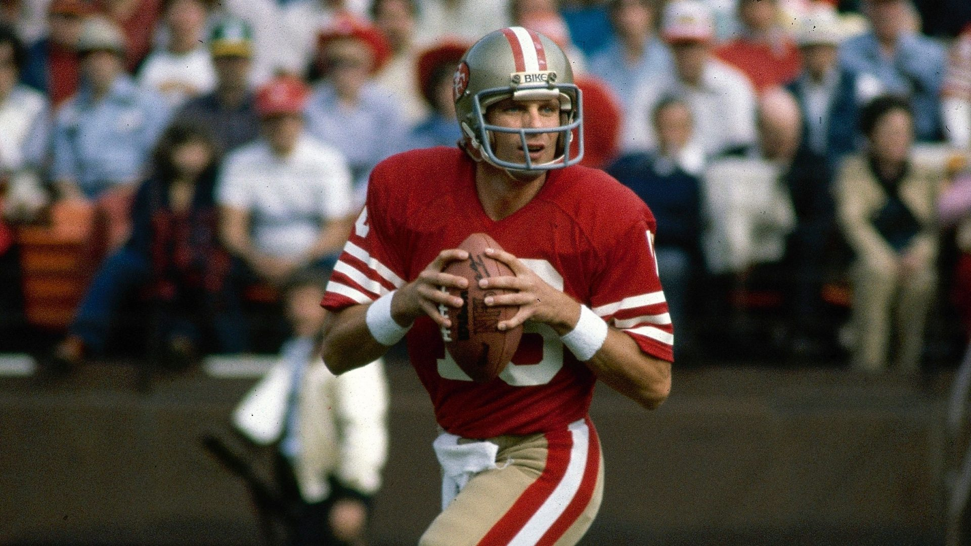 Mandatory Credit: Photo by Uncredited/AP/Shutterstock (10792369a)San Francisco 49ers NFL football quarterback Joe Montana in San Francisco.