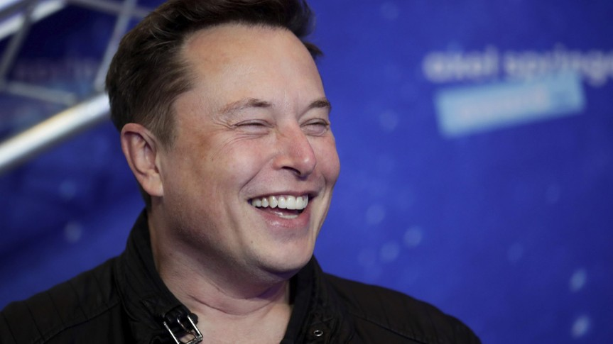 Mandatory Credit: Photo by Hannibal Hanschke/AP/Shutterstock (11088658e)SpaceX owner and Tesla CEO Elon Musk arrives on the red carpet for the Axel Springer media award, in Berlin, GermanyMusk, Berlin, Germany - 01 Dec 2020.