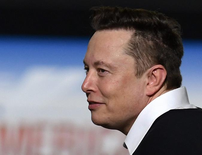 Mandatory Credit: Photo by Paul Hennessy/SOPA Images/Shutterstock (10664640n)SpaceX founder Elon Musk looks on after being recognized by U.