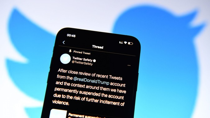 Mandatory Credit: Photo by Action Press/Shutterstock (11700960c)Donald Trump blocked on TwitterOn January 9th, 2021, US President Donald Trump was permanently banned from Twitter.