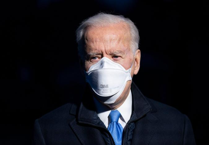 Mandatory Credit: Photo by Shutterstock (11757831d)President Joe Biden delivers brief remarks to the media as he departs the White House for a weekend trip to Camp David, in Washington, DC.