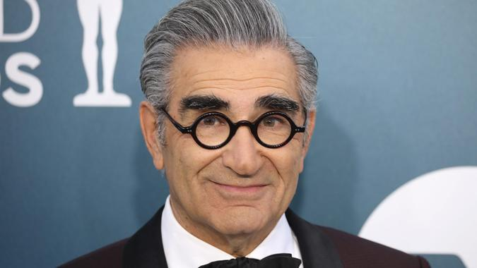 Mandatory Credit: Photo by DAVID SWANSON/EPA-EFE/Shutterstock (10530510jn)Eugene Levy arrives for the 26th annual Screen Actors Guild Awards ceremony at the Shrine Auditorium in Los Angeles, California, USA, 19 January 2020.