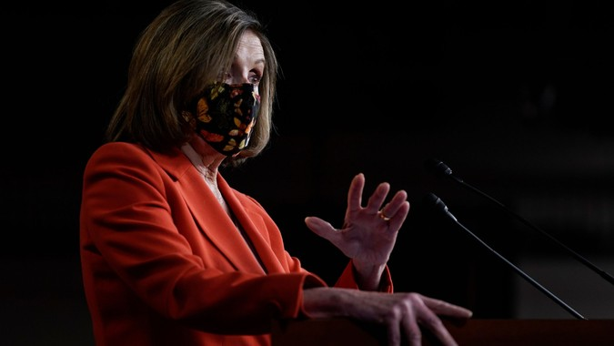 Mandatory Credit: Photo by Patrick Semansky/AP/Shutterstock (11782498c)House Speaker Nancy Pelosi of Calif.