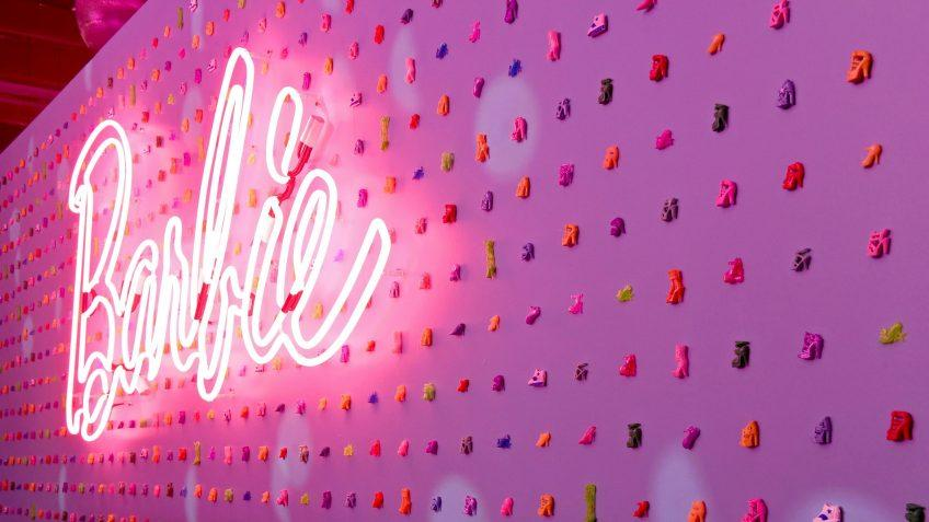 Mandatory Credit: Photo by Diane Bondareff/Invision/AP/Shutterstock (10148662b)To celebrate 60 years of inspiring girls, Barbie hosts an interactive pop-up in New York City, to highlight the brand's past, present and futureBarbie 60th Anniversary, New York, USA - 08 Mar 2019.