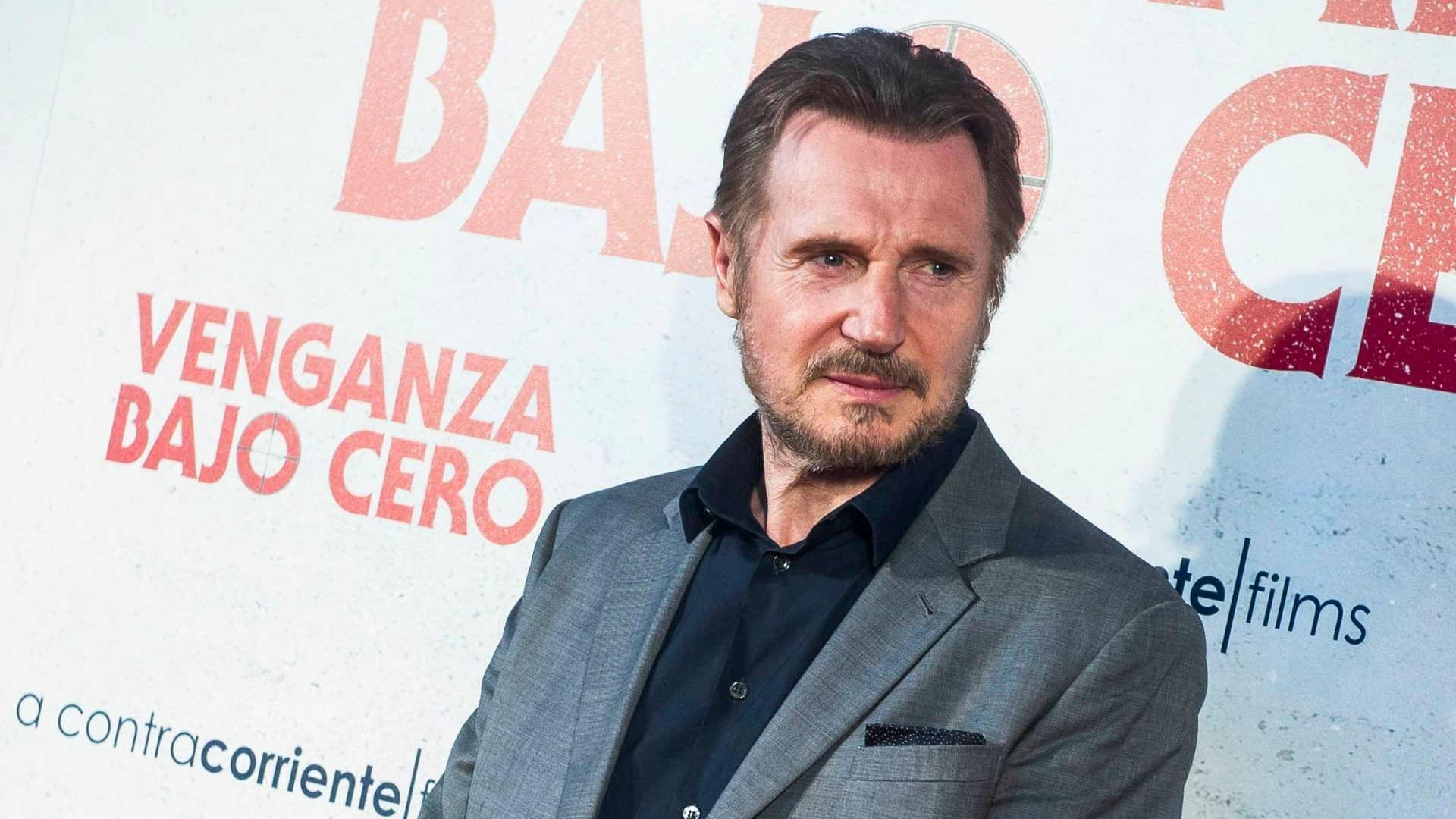 Mandatory Credit: Photo by Belen Diaz/DYDPPA/Shutterstock (10337370bc)Liam Neeson'Cold Pursuit' Film Premiere, Arrivals, Capitol Cinema, Madrid, Spain - 15 Jul 2019.