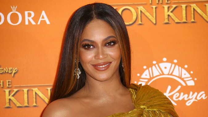 "Mandatory Credit: Photo by Joel C Ryan/Invision/AP/Shutterstock (10651972a)Beyonce at the ""Lion King"" premiere in London."