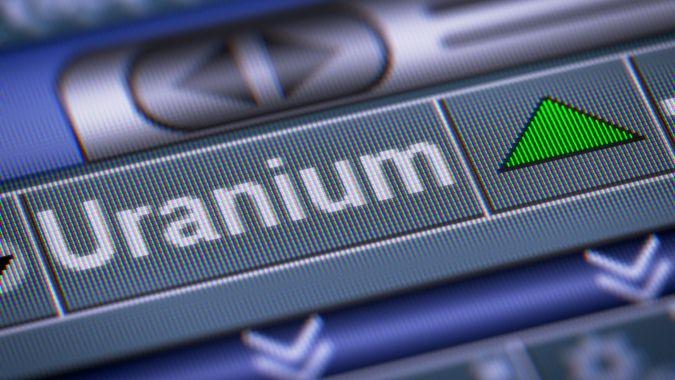uranium stock index going up