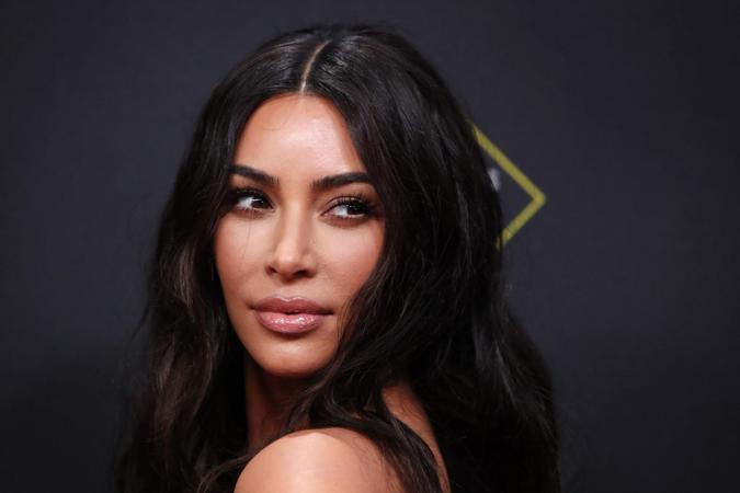 Mandatory Credit: Photo by NINA PROMMER/EPA-EFE/Shutterstock (10471241ax)Kim Kardashian West arrives for the 2019 People's Choice Awards at the Barker Hangar in Santa Monica, California, USA, 10 November 2019.