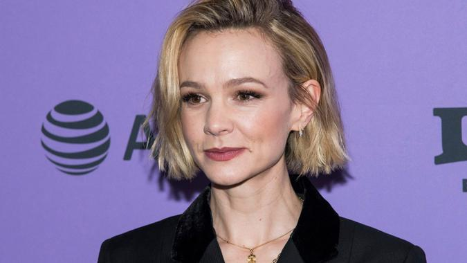 """Mandatory Credit: Photo by Charles Sykes/Invision/AP/Shutterstock (10539436e)Carey Mulligan attends the premiere of """"Promising Young Woman"""" at the MARC theater during the 2020 Sundance Film Festival, in Park City, Utah2020 Sundance Film Festival - """"Promising Young Woman"""" Premiere, Park City, USA - 25 Jan 2020."""