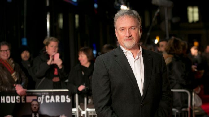 Mandatory Credit: Photo by Joel Ryan/Invision/AP/Shutterstock (9203752m)Director David Fincher arrives on the red carpet for the UK Premiere of 'House of Cards' at a Leicester Square cinema in LondonHouse of Cards Premiere London - 17 Jan 2013.
