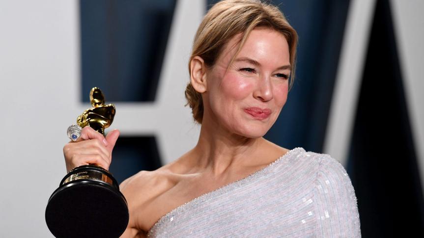 Mandatory Credit: Photo by Anthony Harvey/Shutterstock (10548152uv)Renee ZellwegerVanity Fair Oscar Party, Arrivals, Los Angeles, USA - 09 Feb 2020.