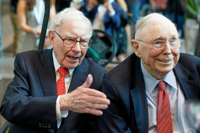 Mandatory Credit: Photo by Nati Harnik/AP/Shutterstock (10227744a)Warren Buffett, Charlie Munger.