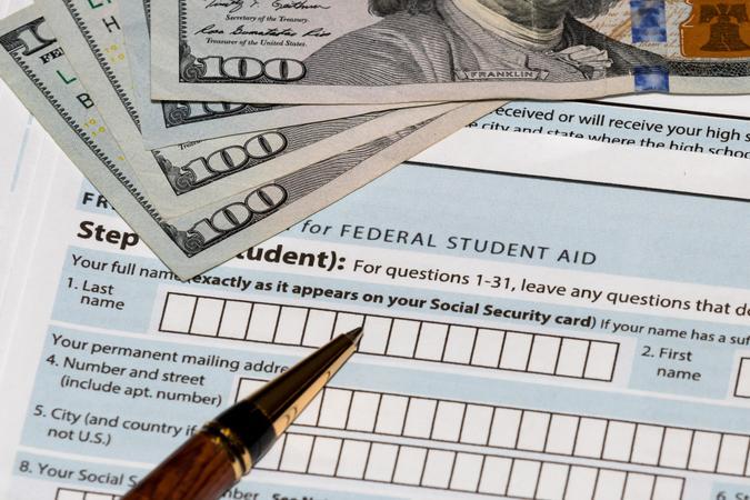 landscape, no people, student loan debt crisis.