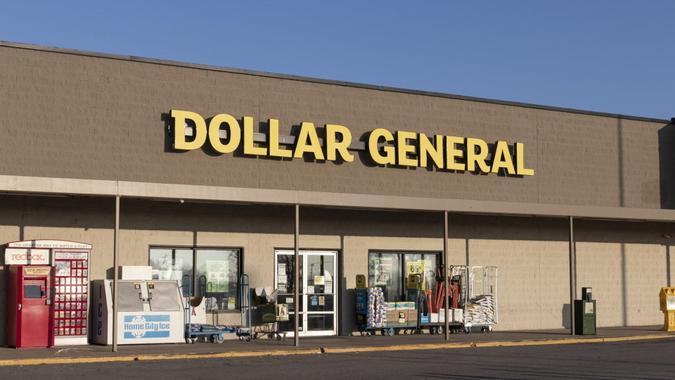 Greensburg - Circa November 2020: Dollar General Retail Location.